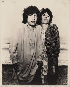Mick Jagger and Keith Richards - 1976