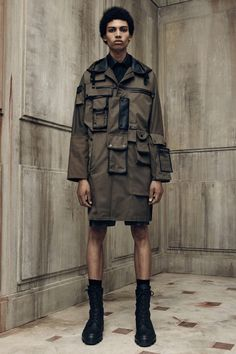 BALENCIAGA* Military Coat 2016 Spring Collection