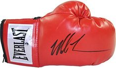 """Boxing Legend Mike Tyson Have Personally Hand-signed This Red Everlast Boxing Glove.100% Guaranteed Authentic Includes Steiner Sports Certificate Of Authenticity Features Tamper-evident Steiner Hologram       Famous Words of Inspiration...""""A word to the wise is... more details available at https://perfect-gifts.bestselleroutlets.com/gifts-for-holidays/collectibles-fine-art/product-review-for-mike-tyson-autographed-red-everlast-boxing-glove/"""