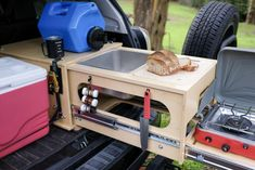 Nomad Kitchen: A Slide-Out Kitchen System for the 5th Gen 4Runner