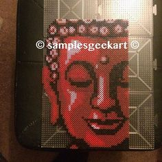 Buddha perler beads by samplesgeekart