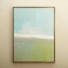 Coastal Abstract Canvas