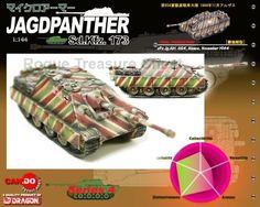 Dragon CanDo Series 4 Jagdpanther Sd.Kfz.173 #24 SPz.Jg.Abt.654 #DragonCanDo