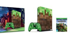 Une Xbox One S Minecraft et une Xbox One X Project Scorpio pour cet automne Geek Mode, Beautiful Love Letters, Monarch Of The Glen, Minecraft, Xbox One S 1tb, X Project, Tower Of Power