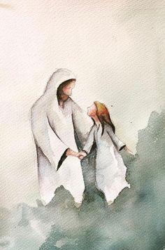 Lds Art, Bible Art, Jesus Is Life, God Jesus, Jesus Artwork, Pictures Of Christ, Jesus Wallpaper, Jesus Painting, Prophetic Art
