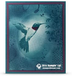 CARD: Picture Perfect Part II – The Hummingbird | Stampin Up Demonstrator - Tami White - Stamp With Tami Crafting and Card-Making Stampin Up blog