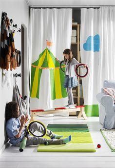 PLUFSIG gymnastiekmat, opvouwbaar | #IKEAcatalogus #nieuw #2017 #IKEA #IKEAnl #gordijn #kinderkamer #spelen #speelgoed