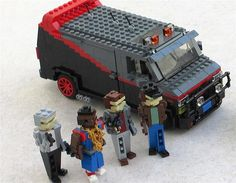 Cool Movie Cars in Lego