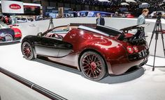 "The Last in Line: Bugatti Veyron ""La Finale"" Unveiled, Marks End of Production - Photo Gallery of from Car and Driver - Car Images - Car and Driver - Car and Driver"