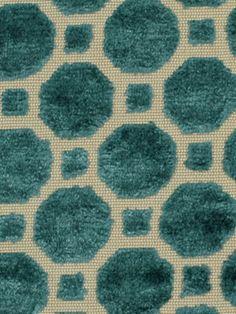 Impresión de pantalla Hermoso Panel De Tela De Pavo Real hacer un cojín tonos azul Craft
