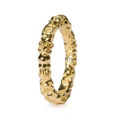 Jeder Bead und jedes Stück hat seine eigene Geschichte: Troll Ring Gold R2102