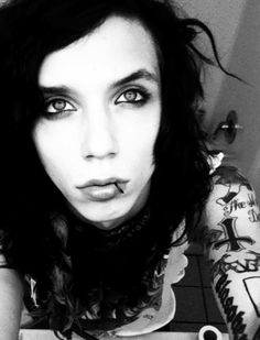 Andy Biersack from Black Veil Brides. Helped me throught a lot.