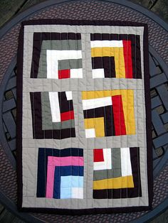 Gee's Bend Mini Quilt for jmbmommy | Flickr - Photo Sharing!