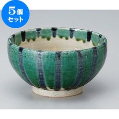 Five set series bowl Oribe Jukusa kettle on 5.5 bowl [16.8 x 9.5cm] Tsuchimono Japanese instrument Liquor restaurant for hotel business >>> You can get more details by clicking on the image.