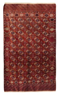 A Tekke rug, late 19th century, cm 320x193, Good conditions from cambi casa d'este