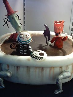 The Nightmare Before Christmas halloween cake