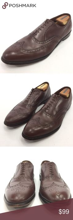 ALLEN EDMONDS Chester Brown Wingtip Oxfords 15B ALLEN EDMONDS Chester Solid Brown Medallion Wingtip Oxford Lace Shoes 15B USA  Flaw Free; See Photos for Details; Shoe Horns are Not Included  The item will be shipped either the same or next day  Send me a message with any questions Allen Edmonds Shoes Oxfords & Derbys