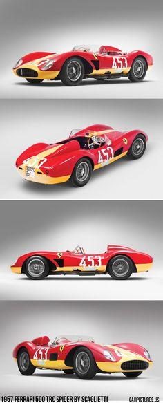 1957 Ferrari 500 TRC Spider by Scaglietti