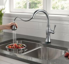Cool Beautiful Delta Touch Kitchen Faucet For Your Interior - Delta touchless kitchen faucet