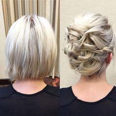 penteados em cabelos curtos 1