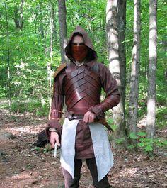 LARP Desert Elf armor by ~elanqc on deviantART