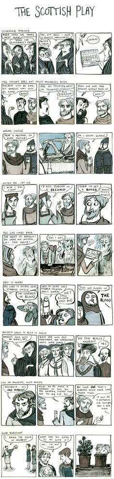 Shakespeare comic