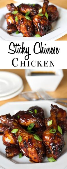 STICKY CHINESE CHICKEN - ERREN'S KITCHEN - This recipe makes deliciously sticky, Chinese chicken with a honey soy glaze that everyone will love. This dish is perfect for casual dinner parties.