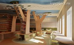 School library sketch. Medellin, Columbia. For CBOB   Private architect and interior designer Ilya Sibiryakov for chbob.org  The entire school project is inspirational.