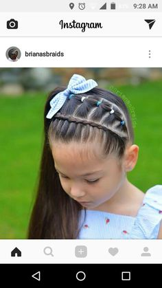 Black Kids Hairstyles, Work Hairstyles, Cute Girls Hairstyles, Princess Hairstyles, Baddie Hairstyles, Ponytail Hairstyles, Mixed Curly Hair, Jasmine Hair, Curly Hair Styles