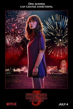 Netflix has released 14 Stranger Things Season 3 character posters ahead of the season premiere. The series returns to Netflix on July Stranger Things Netflix, Joyce Stranger Things, Stranger Things Brasil, Stranger Things Fotos, Stranger Things Season 3, Stranger Things Characters, Stranger Things Spoilers, Joyce Byers, 3 Characters