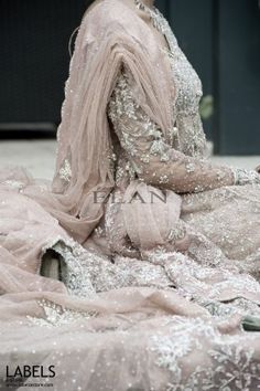 Check out the pictures on this website. I cannot believe the work put into this beautiful gown Elan by Khadijah Shah // Love the color. Pakistani Wedding Dresses, Pakistani Bridal, Pakistani Outfits, Indian Dresses, Indian Outfits, Bridal Dresses, Bridal Gown, Indian Bridal Fashion, Indian Bridal Wear