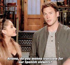 Watch Ariana Grande & Chris Pratt's 'SNL' Season Premiere Promos