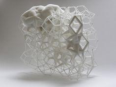 Grid (2012) by Daniel Widrig Studio , via Behance