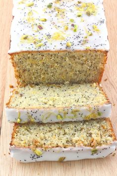 "Can I make this paleo?  Almond meal/honey?  ""Lemon Pistachio & Poppy Seed Loaf...yummmmmmmmy!  Like the delish Starbucks muffins from ten years ago when the pastries were tasty!"""