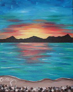The Painted Cabernet - A Paint & Sip Studio, Santa Barbara ...