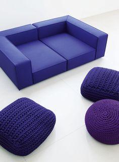 Paola Lenti, design: Francesco Rota - Modular seating system.
