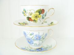 Royal Vale Tea Cups ~ Mary Wald's Vintage Place: Vintage Tea Cup Gift Giving