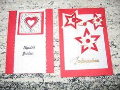 Punavalkoiset kortit