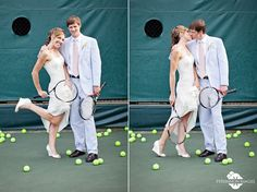 tennis wedding