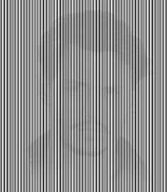 What a freaky barcode. Man hiding in background