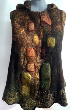 These were from a class with Katia. Viscose Wool Silk