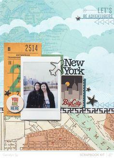New York.  In a Creative Bubble: Studio Calico: Roundabout