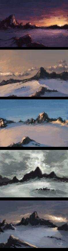 Variations on a theme by Ryben.deviantart.com on @deviantART