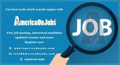Job Search Websites, Free Job Posting, Job Offers, Career Choices, Job Portal, Good Job, Online Jobs, Search Engine, Resume