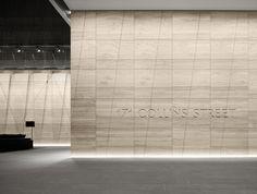 171 Collins Street, Melbourne . Lighting Design by Electrolight . Interior Design by Bates Smart