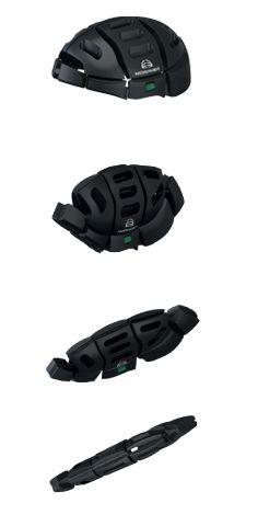 Morpher® folding bike helmet (not yet available) Cool Bike Helmets, Bicycle Helmet, Motorcycle Helmets, Pimp Your Bike, Touring Bicycles, Urban Cycling, Bike Kit, Helmet Design, Brompton