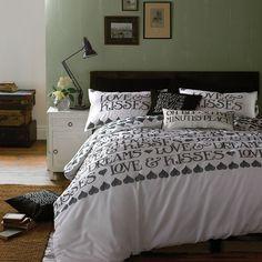 Black Toast Bedding