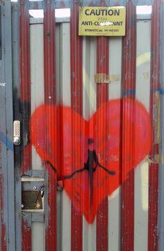 Never know where you might find a broken heart Graffiti, Heart, Graffiti Artwork, Hearts, Street Art Graffiti