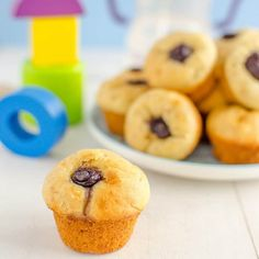 First Muffins For Baby. Muffins For Baby No Sugar Healthy For Kids and Babies. A Soft Baby Muffin with Banana and Blueberry. Healthy Muffin Recipes, Healthy Muffins, Baby Food Recipes, Dessert Recipes, Desserts, Brunch Recipes, Blueberry Recipes Baby Food, Toddler Recipes, Healthy Meals