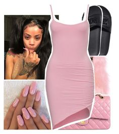 A fashion look from December 2016 featuring Victoria's Secret sandals and Skinnydip tech accessories. Browse and shop related looks. Swag Outfits For Girls, Cute Swag Outfits, Classy Outfits, Stylish Outfits, Summer Outfits, Girl Outfits, Fashion Outfits, 20s Outfits, Polyvore Outfits